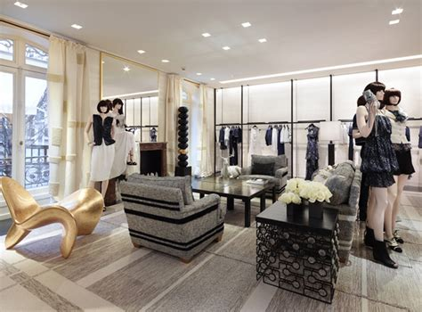 home design store paris chanel store by peter marino paris luxe light and home