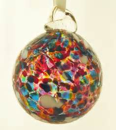 new our handmade baubles wight island glass