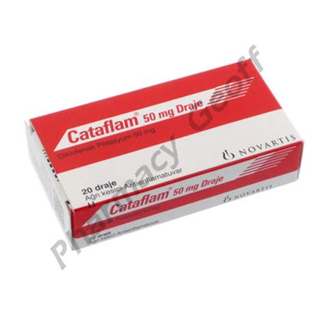 Nocoflar 50 Mg Diclofenac Potassium cataflam diclofenac potassium 50mg 20 tablets arthritis pharmacy geoff