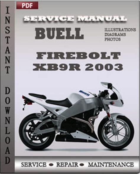 buell firebolt xb9r 2003 service repair manual instant