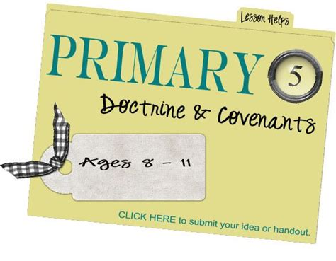 sugardoodle lesson ideas primary 5 lesson helps lds primary
