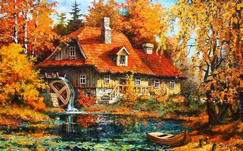 Ralph Watermill Wallpaper by Watermill Autumn Forest Wallpapers Watermill