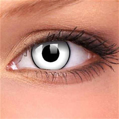 white zombie contact lenses (pair)  buy jewellery