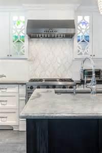 artistic tile backsplash contemporary kitchen by