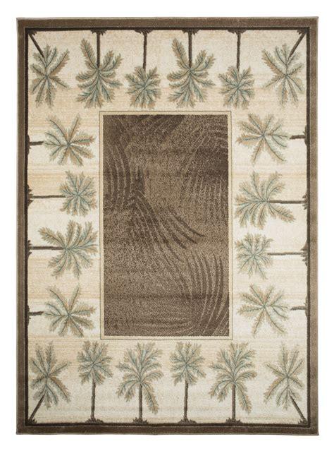 palm tree area rugs cheap biege bone bahamas palm tree rug 2321 bahamas rugs