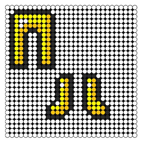 perler bead minecraft patterns minecraft golden and boots perler bead pattern