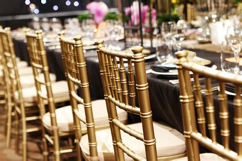 gold chiavari chairs marquee tent tiffany chairs hire silver gold and black available