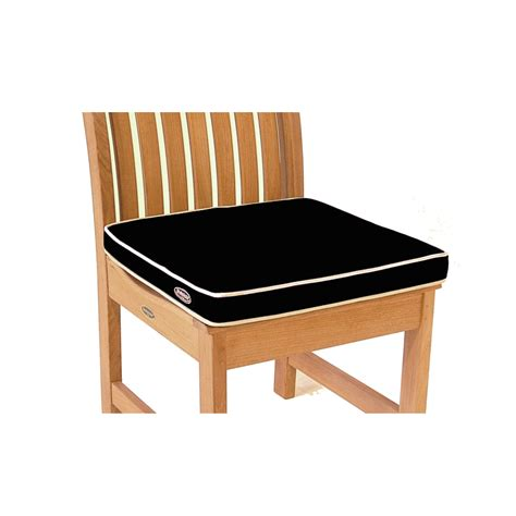 Teak Patio Furniture Cushions Sunbrella Dining Chair Cushion Westminster Teak Outdoor Furniture