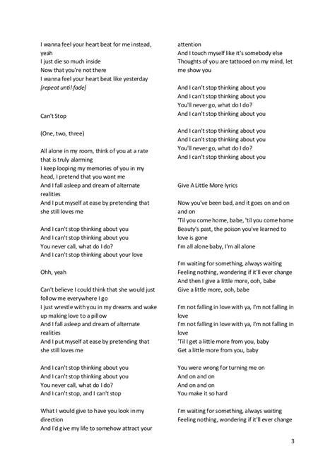 maroons songs lyric lirik lagu maroon