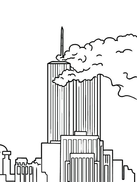 Coloring Page For 9 11 by 9 11 Coloring Pages Patriots Day Best Coloring Pages
