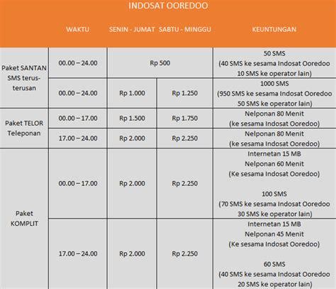kede intetnet murah indosat 2018 paket murah sms dan telepon indosat im3 mei 2017