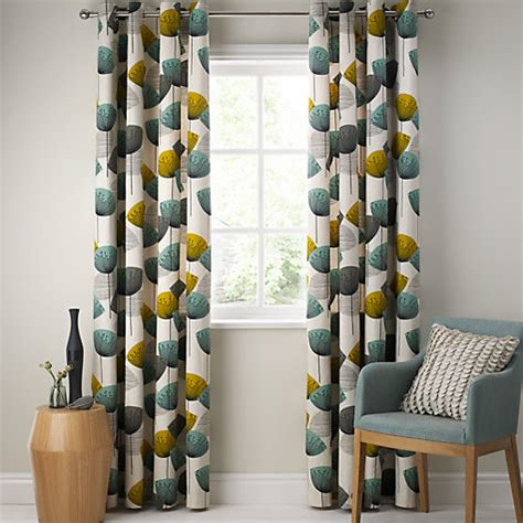 Ready Made Wide Curtains by Buy Sanderson Dandelion Clocks Lined Eyelet Curtains
