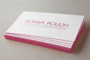 business cards with colored edges unavailable listing on etsy