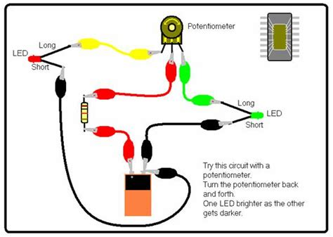how to use resistor instead of potentiometer science for school home