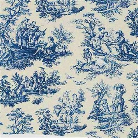 fabric pattern in french quot toile de jouy quot or quot toile quot is a decorating pattern