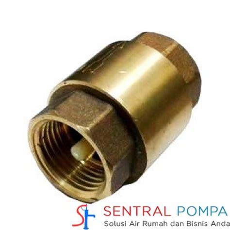 Filter 3 Onda Saringan Foot Klep Pompa Air tusen klep kuningan 1 inch sentral pompa solusi pompa air rumah dan bisnis anda