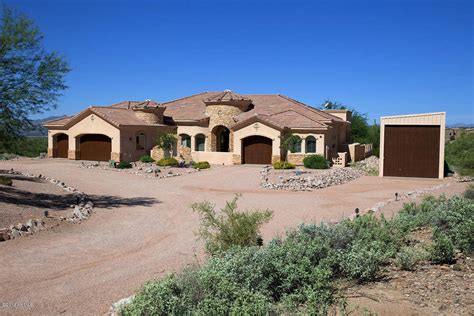 homes with rv garage or cave workshop in arizona