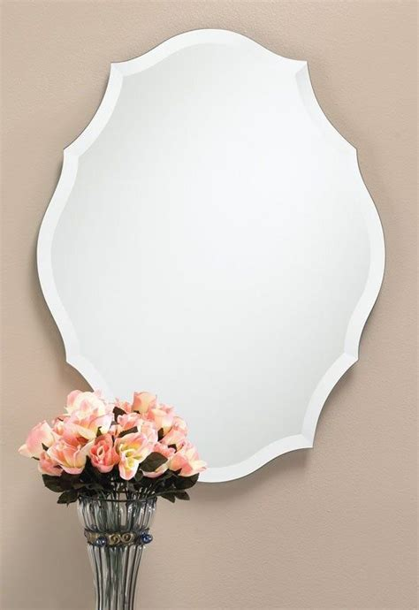 mirror shapes 1000 ideas about beveled mirror on pinterest wall