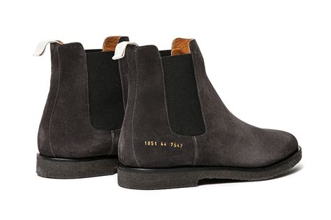 by common projects boots common projects chelsea boots hypebeast