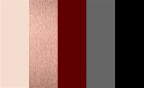 maroon color palette full color palette with black as an accent ivory rose