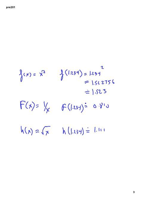 precalculus  function domain  range