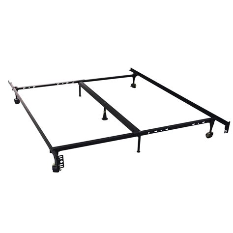 heavy duty queen bed frame homegear heavy duty 7 leg metal platform bed frame