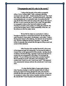 Propaganda Essay by Quot Propaganda And It S In The Novel Animal Farm Quot Gcse Marked By Teachers