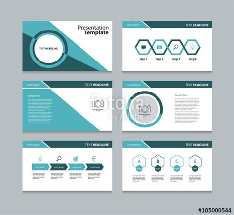templates for slides quot business template presentation slide background design