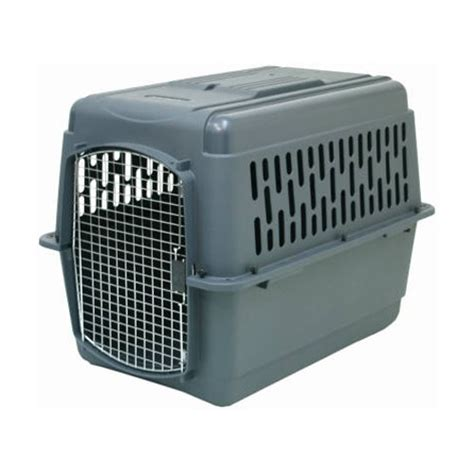 petmate crate petmate pet porter carrier crate gray x large airline travel approved ebay