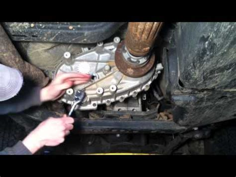 2006 Jeep Grand Transmission Shifting Problems How To Install Replace Four Wheel Drive Transfer