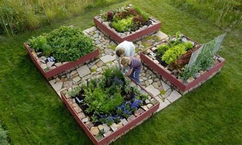 Raised Bed Vegetable Garden Layout Garden Design Jackson Wy Photo Gallery Landscaping Network