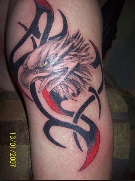 tribal bald eagle tattoos 12 best bald eagle tribal designs images on
