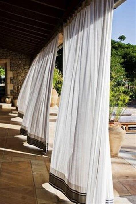 patio curtains outdoor outdoor curtains garden pinterest