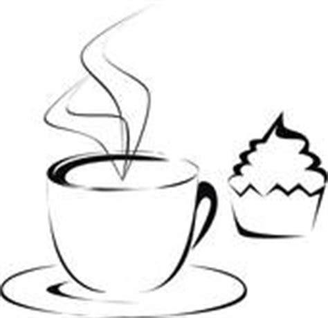 clipart kaffee und kuchen kaffee und kuchen clipart schwarz weiss
