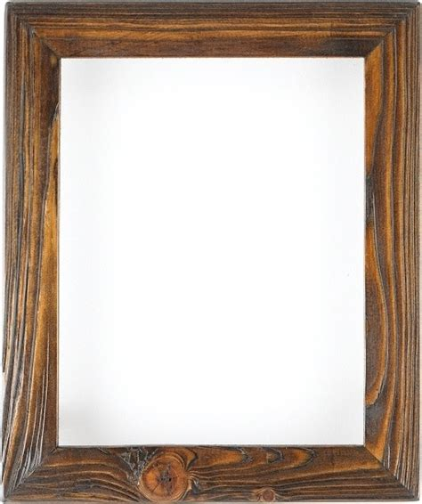 Weathered picture frame in charred timber home decor phoenix by rustic wood studio