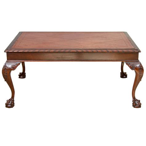 coffee table styles us chippendale style coffee table at 1stdibs