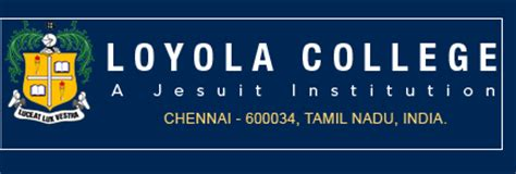 Loyola Mba Program by Management Nri Quota Admissions Loyola Institute Of