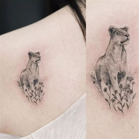 tattoo simple lion 17 best ideas about lioness tattoo on pinterest thigh
