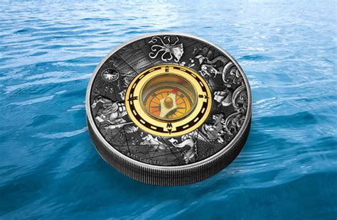 Compass Coin For Collectors Maritime The Perth Mint Coin Collector