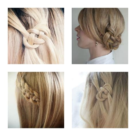 how to do knot hairstyles easy summer hairstyle diy celtic knot hair tutorial