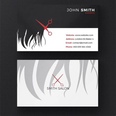 business card haircolor psd scissors vectors photos and psd files free download