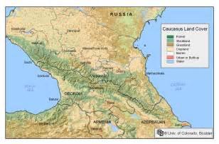 caucasia map maps