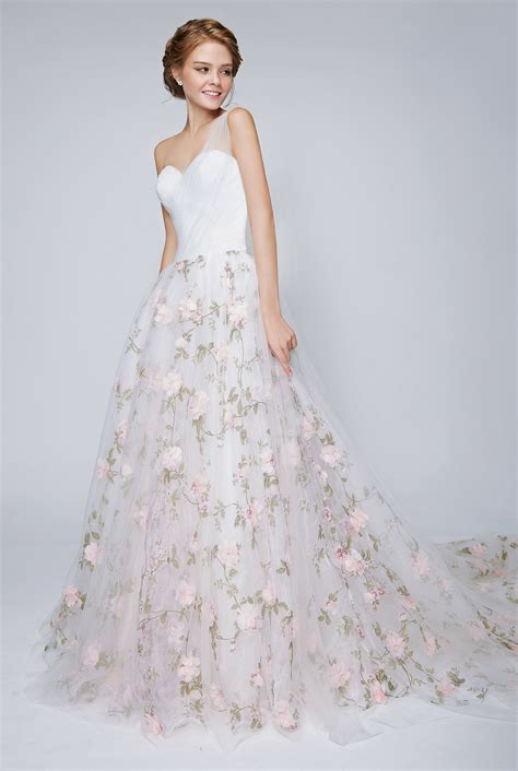 Flower Dresses For Wedding by The Garden Collection