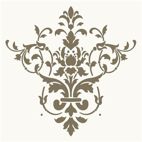 templates for painting 8 best images of free printable wall stencils damask