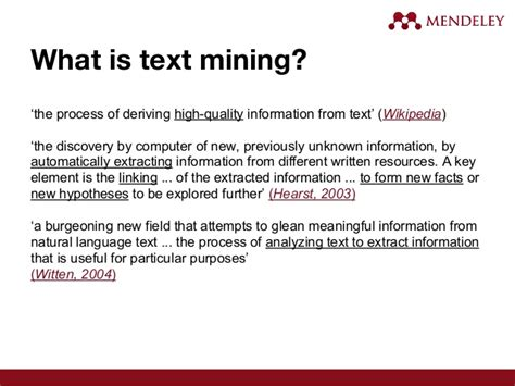 Text Mining Research Papers 2015 by Uksg Webinar Introduction To Text Mining Research Papers With Petr