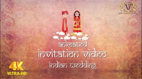 Animated Wedding Invitation by Wedding Invitation For Whatsapp Save The Date