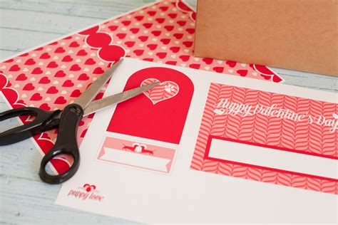 templates for valentines day boxes free printable valentine mailbox project nursery
