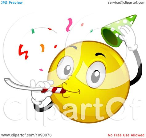 emotion faces celebration clipart
