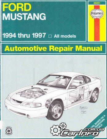 haynes repair manual 1994 1997 ford mustang ford mustang 1994 1997 haynes repair manual 187 автолитература руководства по ремонту и