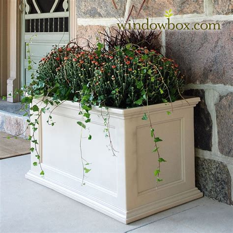 Patio Planters by Prestige 20x36 Patio Planter Vinyl Planters Pots